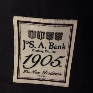 Joseph A Banks Navy suit 1905. Worn once -Like New